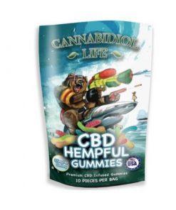 CBD Gummy Worms – 25 mg
