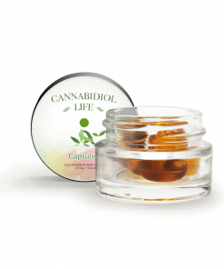 Cannabidiol Life Gel Caps