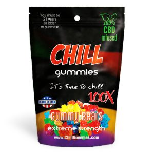 Chill Gummies - gummy bears
