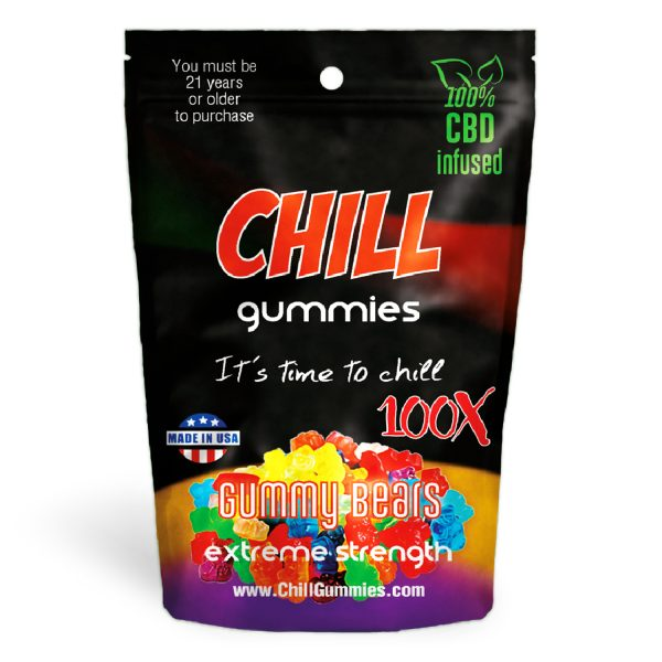 Chill Gummies – CBD Infused Gummy Bears