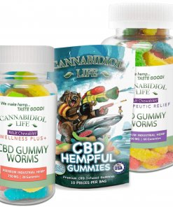 CBD Gummy Worms – 25 mg