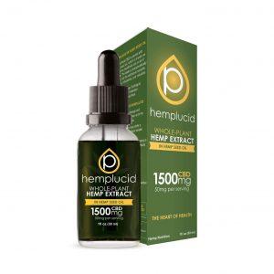Hemplucid CBD Tincture Hemp Seed Oil