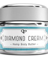Diamond CBD Hemp Body Butter Cream