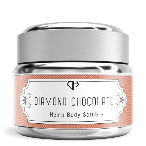 Diamond CBD Hemp Body Scrub Chocolate